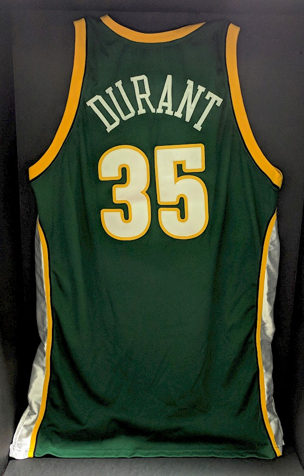 2007 Game-Worn Durant Rookie Jersey