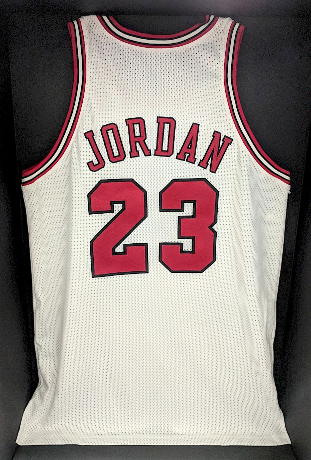 1997 Michael Jordan Game-Worn NBA Finals Jersey
