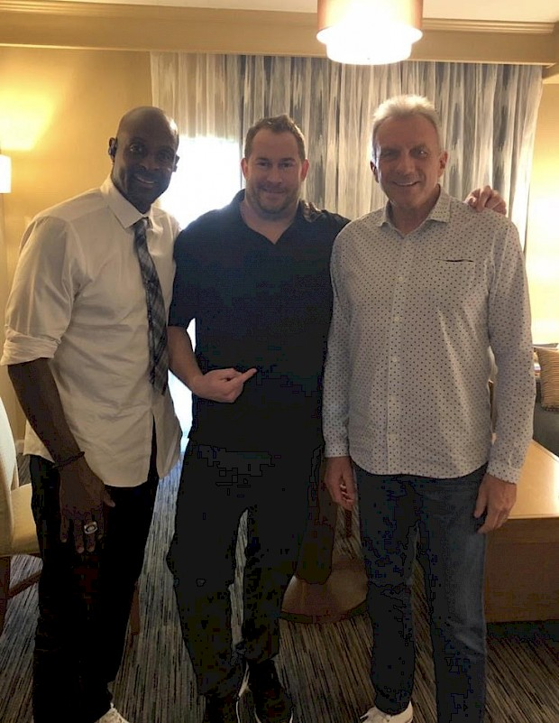 Jerry Rice & Joe Montana Private Signing