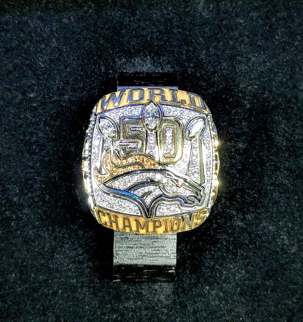 Superbowl 50 Denver Broncos Ring