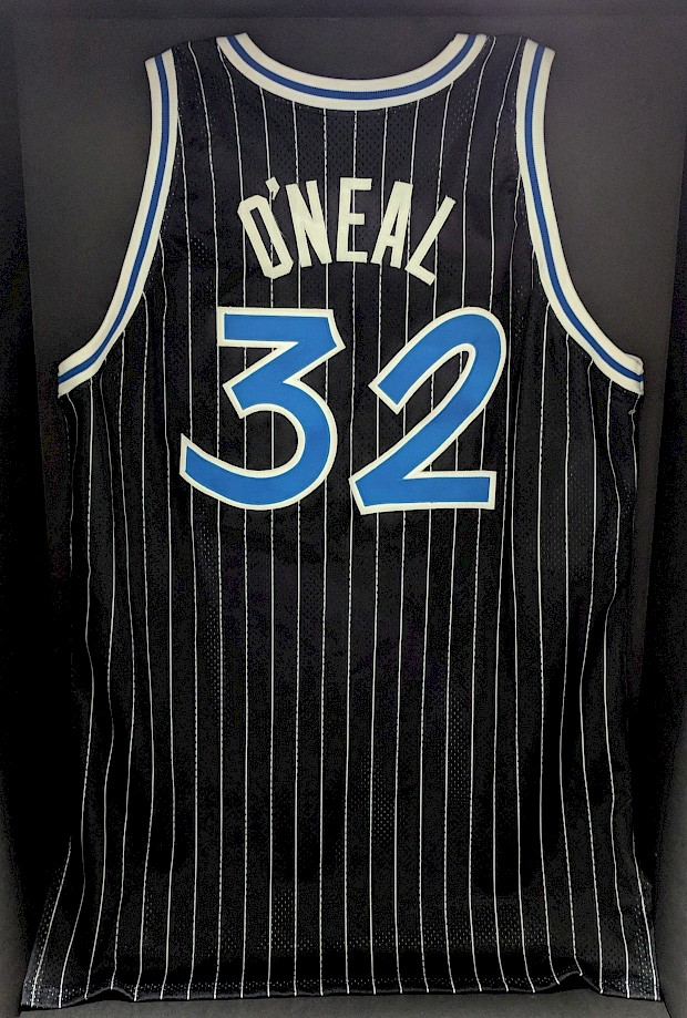 1992 Game-Worn Shaq Rookie Jersey